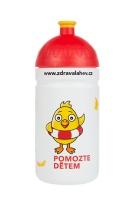 Zdravá lahev Pomozte dětem 0,5l