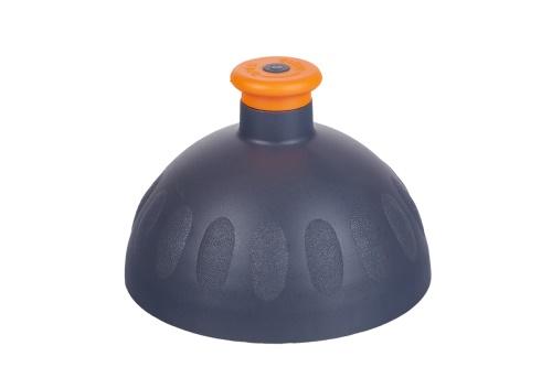 Víčko antracit/zátka oranžová