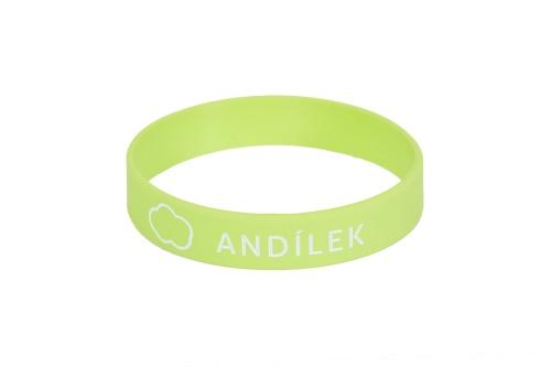 Náramek na ZDRAVOU LAHEV Andílek - zelený