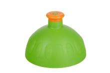 Víčko zelené/zátka oranžová