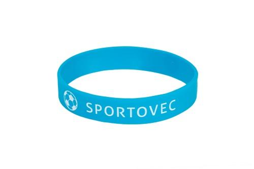 Náramek na ZDRAVOU LAHEV Sportovec - modrý