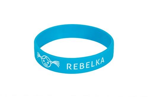 Náramek na ZDRAVOU LAHEV Rebelka - modrý